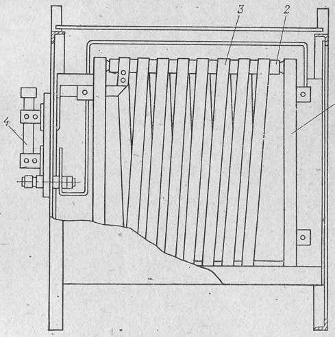 Схема балластного реостата