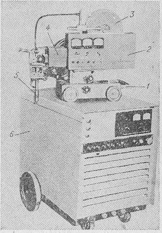 Сварочный автомат АДГ-502.